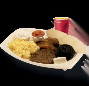 Wendy's Desayuno Tipico