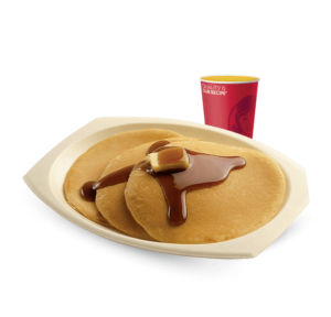 Wendy's Desayuno Panqueques