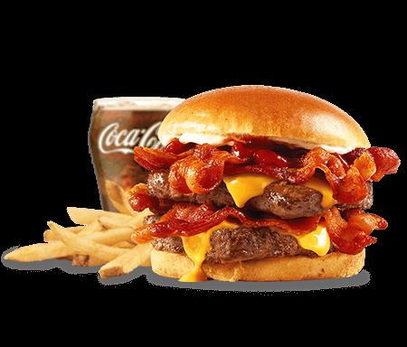 Wendy's Baconator Combo